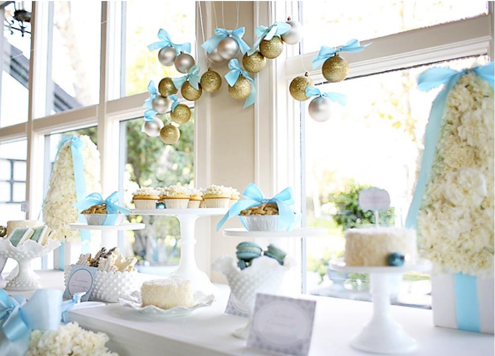 decoracao de arvore de natal azul e dourado : decoracao de arvore de natal azul e dourado:Decoração de Natal simples e criativa